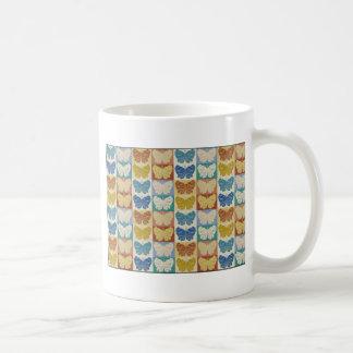 Schmetterlings-Pop-Kunst-Entwurf 21 Tasse