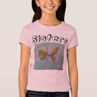 Schmetterlings-Schwestern T-Shirt