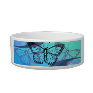 Schmetterlings-Silhouette Napf