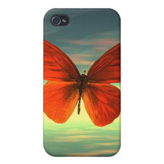 Schmetterlings-Speck-Kasten iPhone 4 Schutzhüllen
