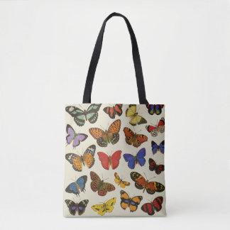 Schmetterlings-Taschen-Tasche ganz über Druck