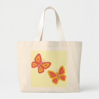 Schmetterlings-Taschen-Tasche Jumbo Stoffbeutel