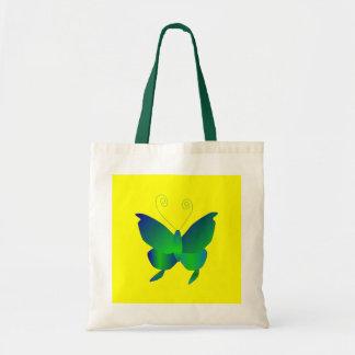 Schmetterlings-Träume in natürlichem I Tragetaschen