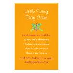 Schmetterlingsthema-Kinderbetreuungs-Flyer
