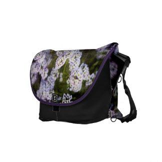 Schmutz-blumige Bote-Tasche Kurier Tasche