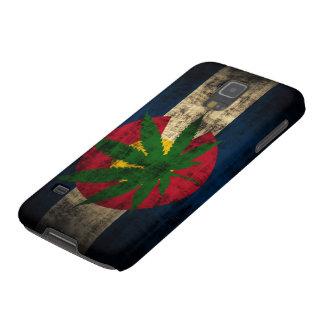 Schmutz-Colorado-Flaggen-Topf-Blatt Hülle Fürs Galaxy S5