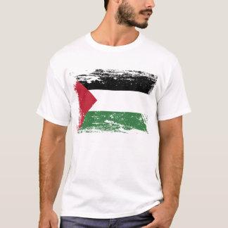 Schmutz-Palästina-Flagge T-Shirt