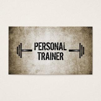 Schmutz-persönliche Trainer-Visitenkarte Visitenkarten
