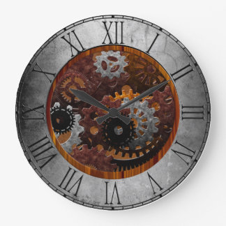 Schmutz Steampunk Uhren und Gänge