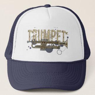 Schmutz-Trompetehut Truckerkappe