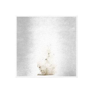 Schmutzige Tornado-Minimalismus-Kunst Leinwanddruck
