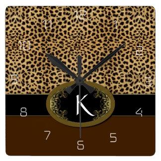 Schnalle herauf Leoparden Uhren