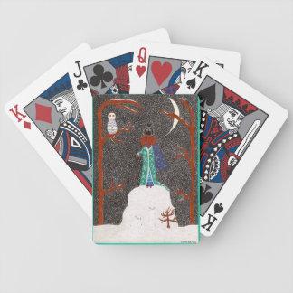 Schnee-Dackel Bicycle Spielkarten