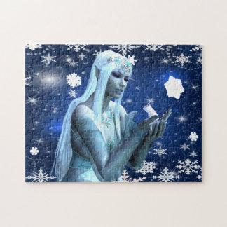 Schnee-Königin Puzzle
