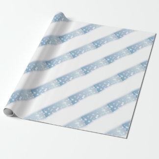 Schnee-Kopien-Raum Geschenkpapier