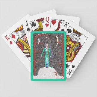 Schnee-Mädchen Kartendeck