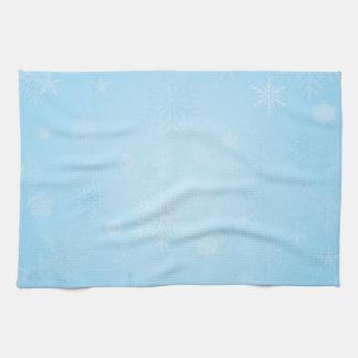 Schneeflocke-Geschirrtuch Handtuch