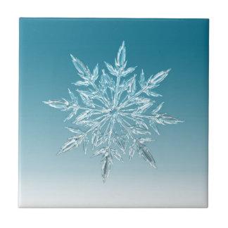 Schneeflocke-Kristall Fliese