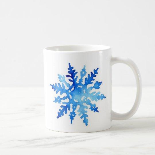 Schneeflocke Tasse