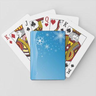 Schneeflockekarten Kartendeck