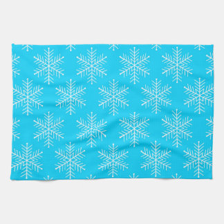 Schneeflocken Handtuch