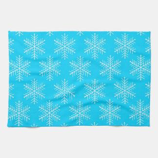 Schneeflocken Handtücher