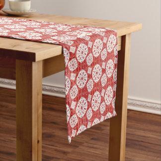 Schneeflocken kopieren auf Tabellen-Läufer des Kurzer Tischläufer