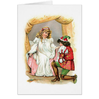 Schneewittchen und Prinz Karte