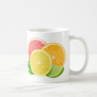 Schneiden Sie Zitrusfrüchte Tasse
