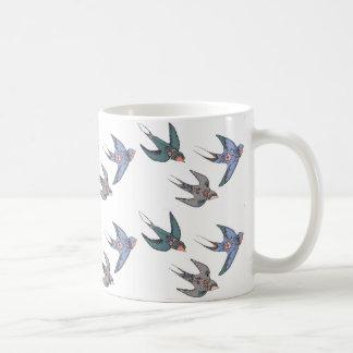 Schnell Swooping Schwalben-Tasse Tasse