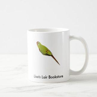 Schneller Papagei - Lathamus entfärben Tasse