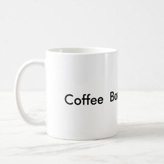 Schnelles Anfangskaffeespeck und Kaffeetasse