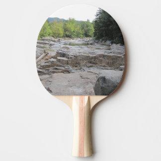 Schnelles Fluss-Klingeln Pong Paddel Tischtennis Schläger
