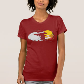 Schnelles Gonzales, das in Farbe läuft T-Shirt