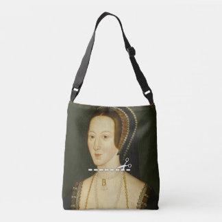 Schnitt hier - Anne Boleyn Tragetaschen Mit Langen Trägern