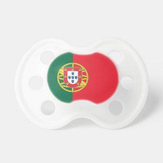 Schnuller mit Flagge von Portugal