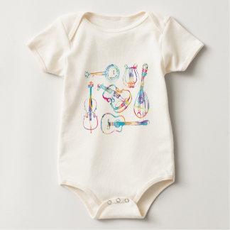 Schnur-Musiker Baby Strampler
