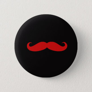 Schnurrbart-Liebe Runder Button 5,1 Cm