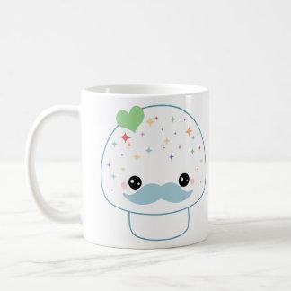 Schnurrbart-Pilz Kaffeetasse
