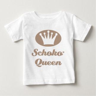 Schoko- Queen Baby T-shirt
