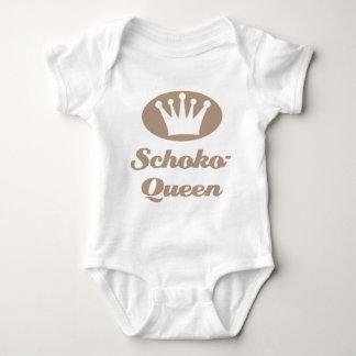 Schoko- Queen Babybody