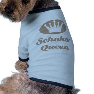Schoko- Queen Haustier T-shirt