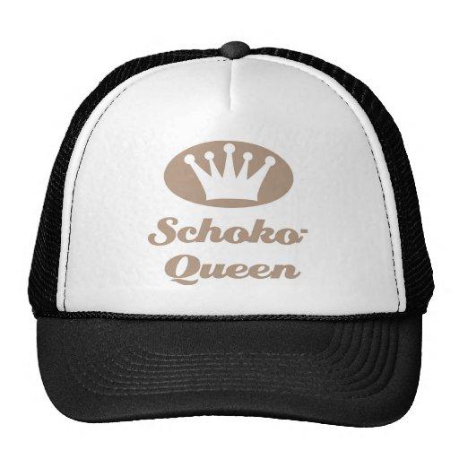 Schoko- Queen Retrokultmütze