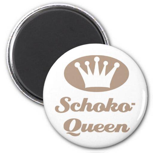 Schoko- Queen Magnete