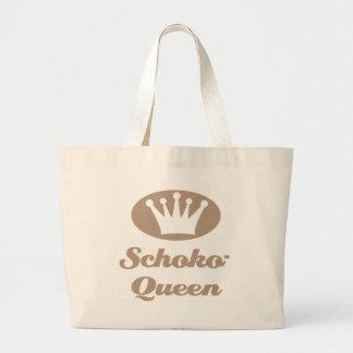 Schoko- Queen Einkaufstasche