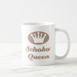 Schoko- Queen Tasse