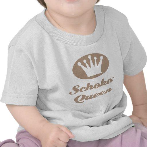 Schoko- Queen Shirts