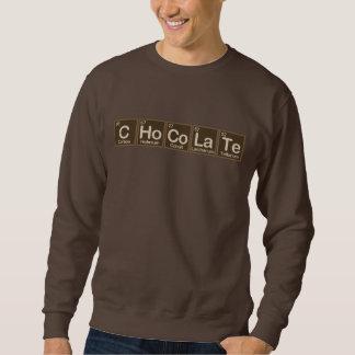 Schokolade gemacht von den Elementen Sweatshirt