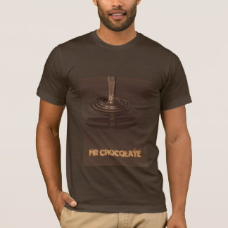 SCHOKOLADE, MR.CHOCOLATE - besonders angefertigt T-Shirt
