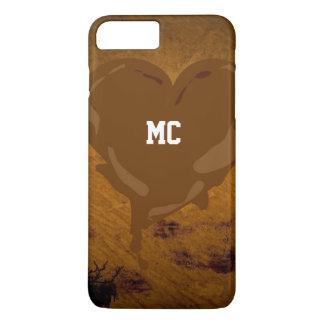 Schokoladen-Herz iPhone 7 Plus, kaum dort iPhone 7 Plus Hülle